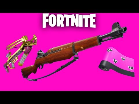 Fortnite New Infantry Rifle + Share the Love Update Countdown + Gameplay! (Fortnite New Update) thumbnail