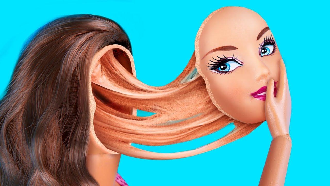 barbie doll hacks and crafts troom troom