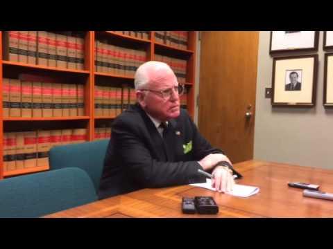 Ald. Ed Burke talks about former Mayor Jane Byrne