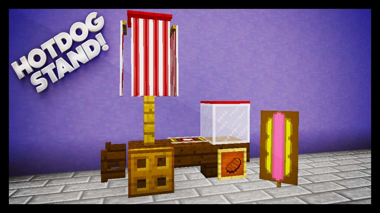 How To Make A Hot Dog In Minecraft