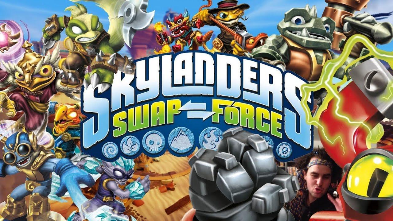 Skylanders swap force pr sentation de tous les nouveaux personnages youtube - Tous les skylanders ...