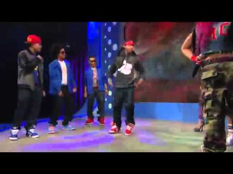 Mindless Behavior  & OMGirlz Dance Off Battle 106&Park