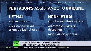 Pentagon announces $250 million in military aid to Ukraine
