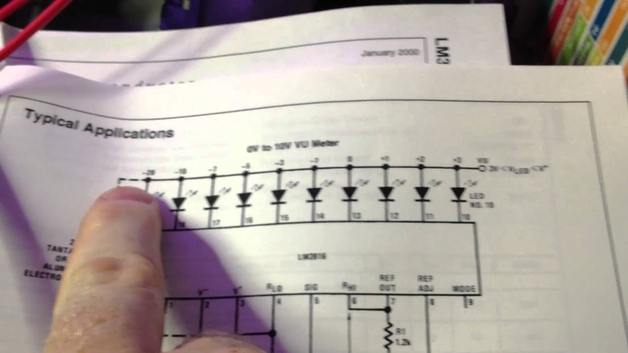 Vu Meter Part 1 Youtube Lm3915 Circuit