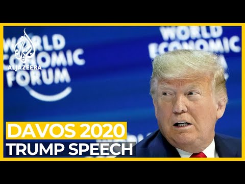 Davos 2020: Trump praises US economy - live speech and analysis
