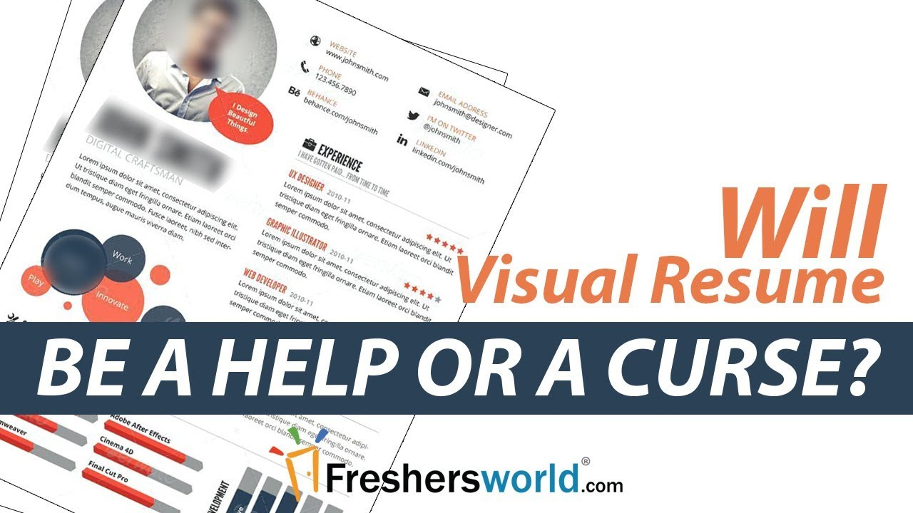 Will Visual Resume be a Help or a Curse? - Interview Tips, Resume ...