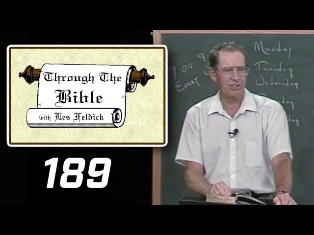 [ 189 ] Les Feldick [ Book 16 - Lesson 3 - Part 1 ] Closing of John's Gospel