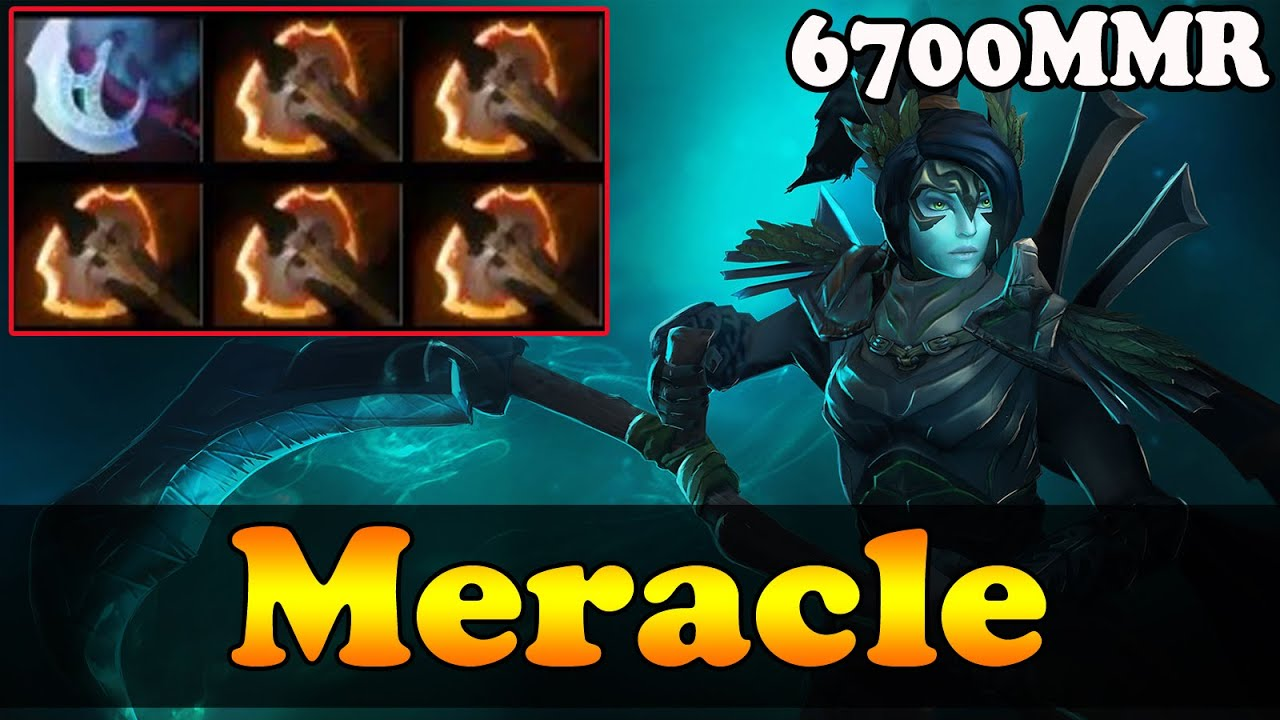 Dota 2 - 6.87 : Meracle 6700 MMR Plays Phantom Assassin With 5 BATTLE  FURIES - YouTube