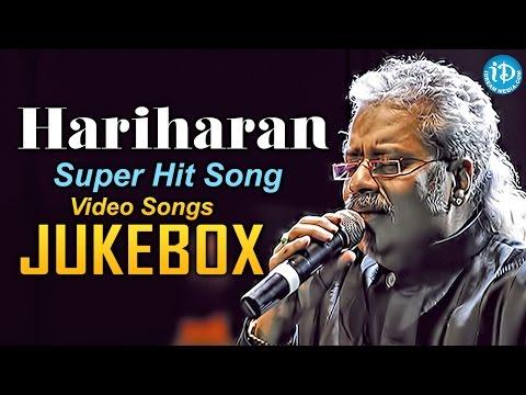 Singer Hariharan Super Hit Songs - Jukebox    Telugu Melody Songs    All Time Hits