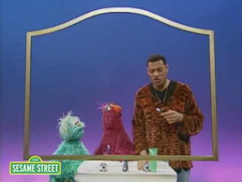 Sesame Street: Laurence Fishburne With a Toothbrush