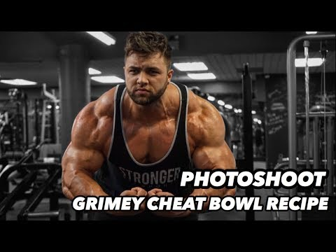 GRIMEY CHEAT BOWL | COVER SHOOT with Muscular Development