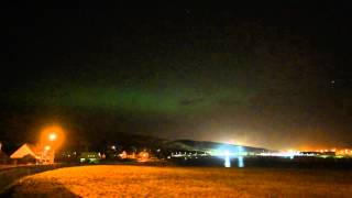 Shot at ISO10000 f/1.4 this is live aurora filmed in real time. It'...