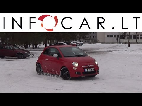 Infocar.lt Fiat 500 atsiliepimai / apžvalga