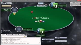 Poker Stars Gameplay (PC)
