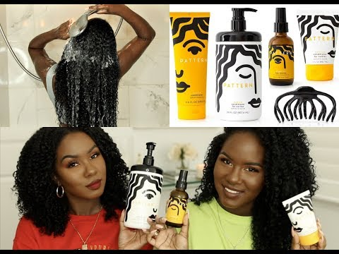 FIRST TIME FRIDAY| PATTERN BEAUTY by TRACEE ELLIS ROSS HAIRCARE LINE - 3c/4a Hair Type