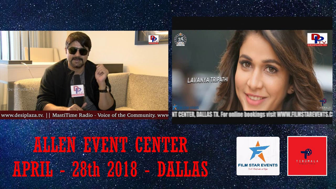 Exclusive Promo for MAA STARS EVENT- Actor Srikanth MAA Executive Vice President