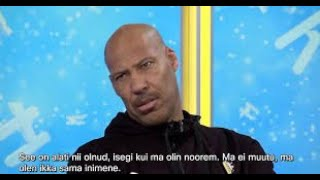 Lavar ball attending morning show in Estonia