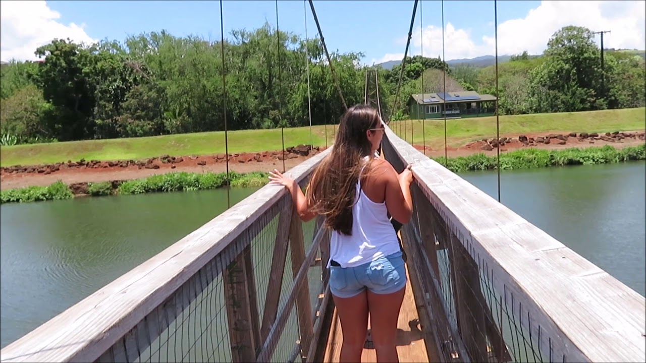 Hanapepe Swinging Bridge Kauai 2018