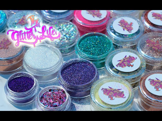 NAIL HAUL: THE GLITTER LIFE- affordable loose glitter for nail art
