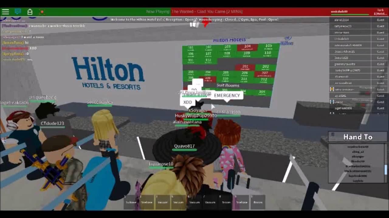 Hilton Hotel V3 Staff Infiltration