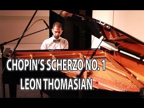 Chopin - Scherzo No. 1- Neumann KM 184 & Apogee Duet Audio Interface