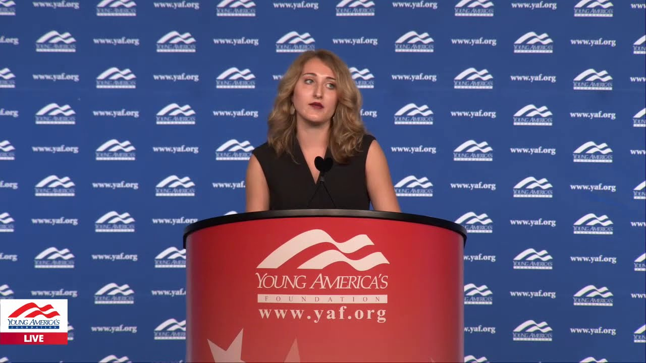 Kara Bell LIVE from YAF's 41st NCSC