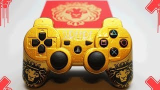Custom SureFire King PS3 Controller & Vape Mod / eLiquid Review by ProModz.com