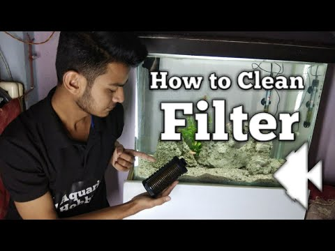 How to Clean filter