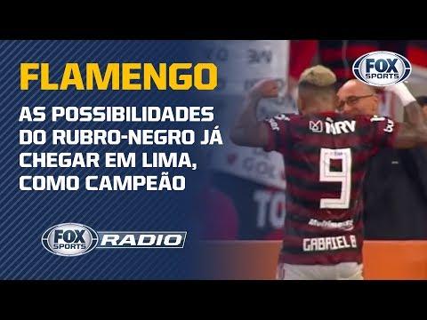 Flamengo chega na final da Libertadores com o título do Brasileirão?