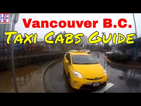Vancouver | Taxi Cabs | Tourist information | Episode # 3