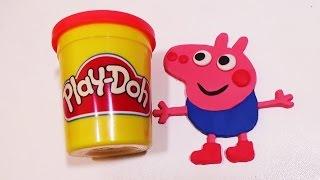 Como Hacer a George de Peppa Pig con Play Doh  FunKeep