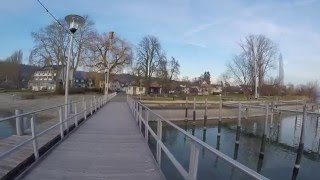 STREET VIEW: Wangen auf der Halbinsel Höri im Bodensee in GERMANY