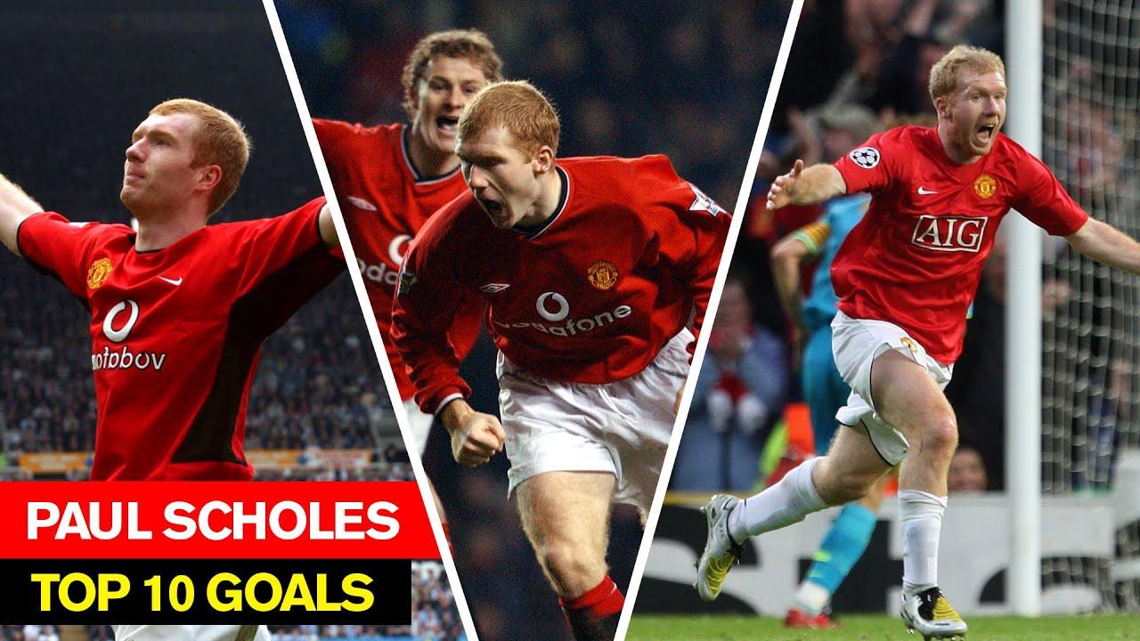 Download Paul Scholes I Top 10 Goals I Manchester United