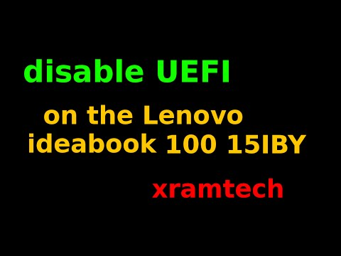 How to Disable UEFI Secure Boot in Windows 10 64 bit and 32 bit | FunnyDog.TV
