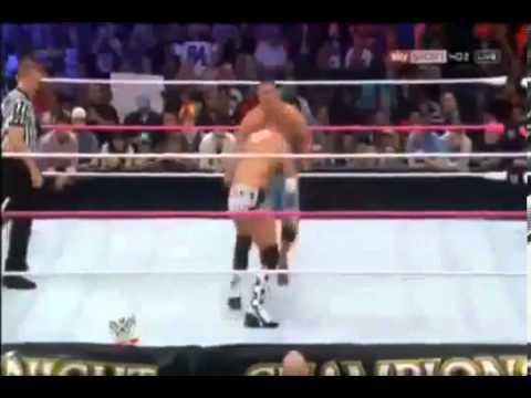 WWE Night Of Champions 2012 John Cena vs CM Punk