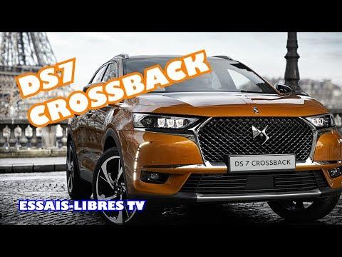DS7 CROSSBACK LE NOUVEAU SUV !!