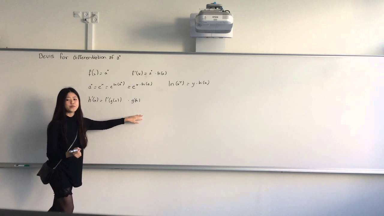 Differentiation af a^x - differentialregning
