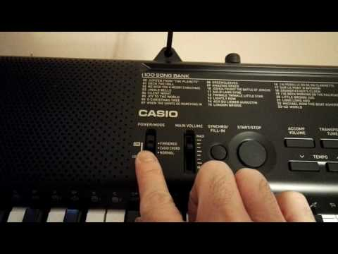 review of Casio CTK 1150 portable keyboards