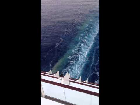 Celebrity Cruise Dumps Waste Into Mediterranean Sea!
