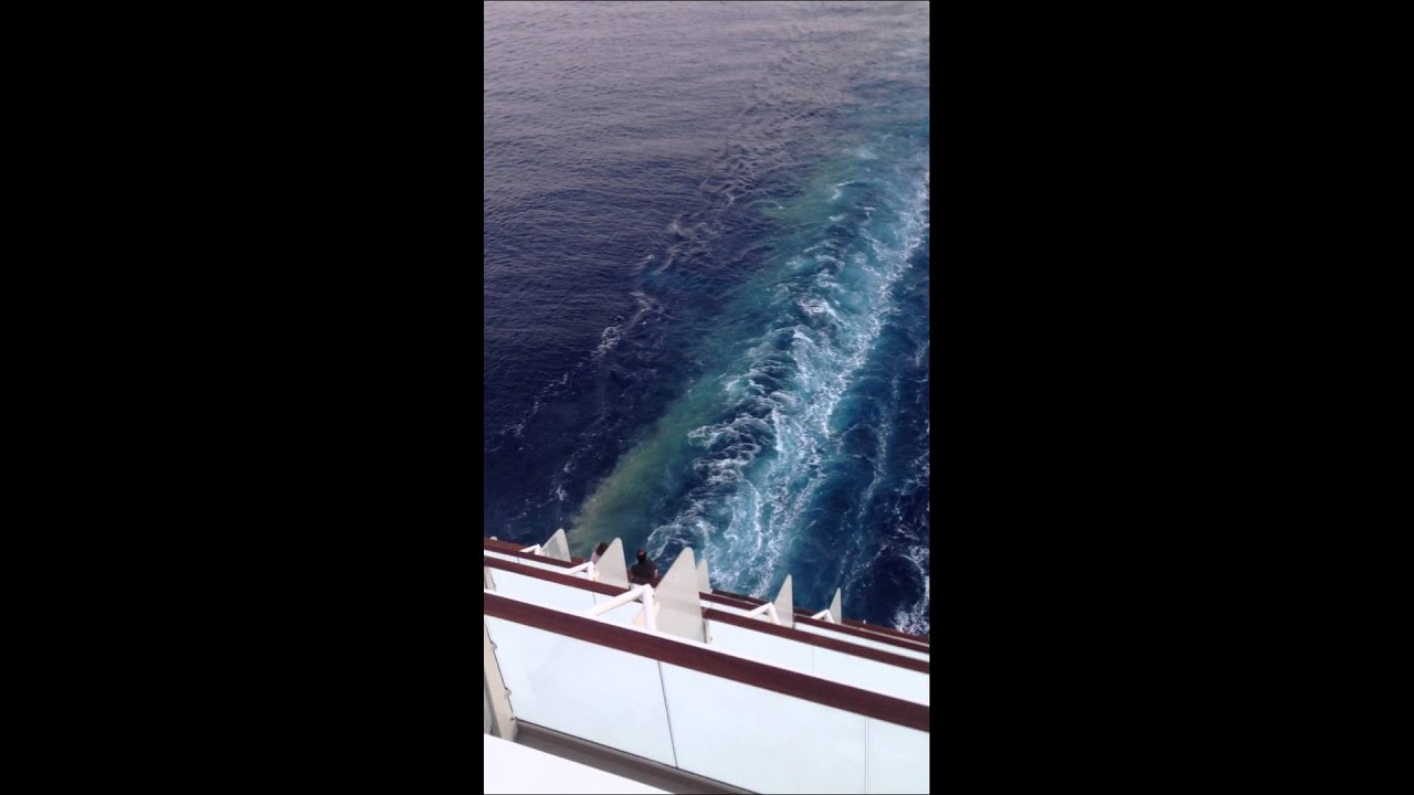 Celebrity Cruise Dumps Waste Into Mediterranean Sea YouTube - Cruise ship sewage