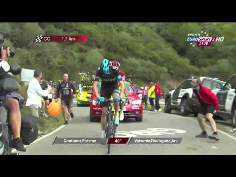 Vuelta 2014 - stage 16 : Contador's win & Froome's attack