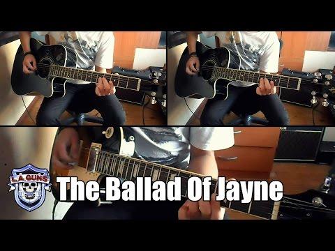 L.A. Guns - The Ballad of Jayne Instrumental (Full cover)