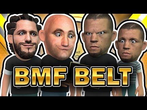 Nate Diaz VS Jorge Masvidal For The BMF Belt