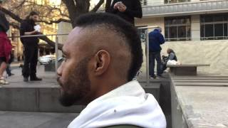 The Streets Barber - Tom - Side View