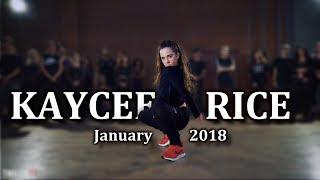 Kaycee Rice - January 2018 Dances