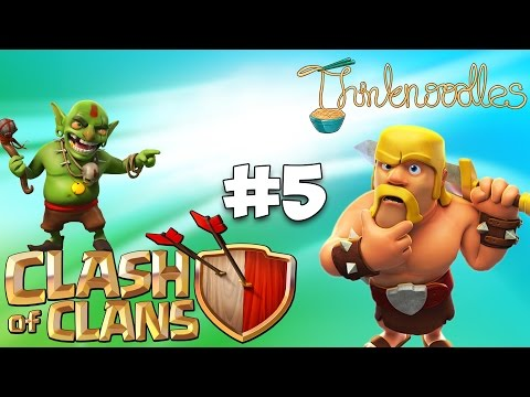 Clash Of Clans : Ep 5 - Free Gems + Failed Raid