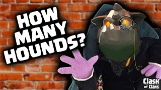 "Clash of Clans ""How Many Hounds?"" Lava Hound Strategy in Clash!"