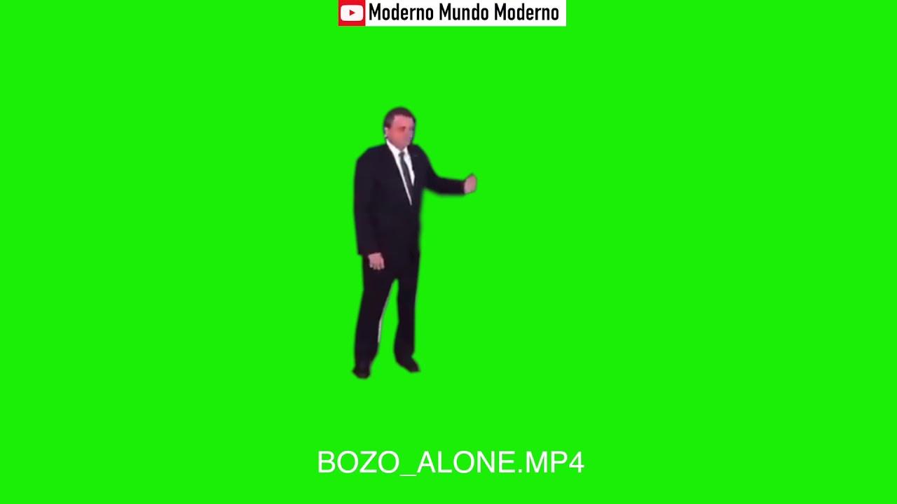 MEME BOLSONARO - BOZO ALONE - CHROMA KEY