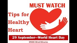ह्रदय की बात दिल से...... heart is a super pump which provides oxygen to all body parts and needs be taken care for we shall make small changes in l...