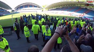 Arsene Wenger Final Goodbye To Arsenal Fans At Huddersfield!!